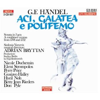 G. F. Händel ACI, GALATEA e POLIFEMO [2CD]