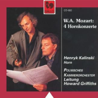 W.A.Mozart 4 Hornkonzerte