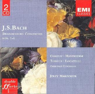 J.S. Bach Brandenburg Concertos. Christmas Concertos [2CD]