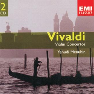 VIVALDI Violin Concertos Yehudi Menuhin [2CD]