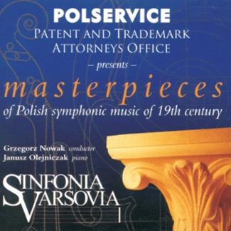 masterpieces of Polish symphonic music of 19 century