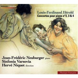 Sinfonia Varsovia - Louis-Ferdinand Hérold Concertos pour piano no. 2, 3 & 4