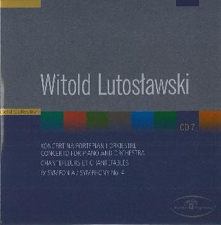 Witold Lutosławski CD 7