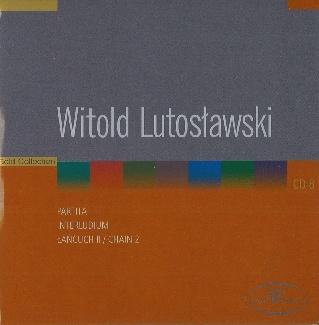 Witold Lutosławski CD 8