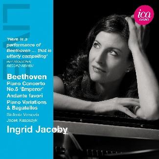 Beethoven Piano Concerto No. 5 Emperor, Andante favori, Piano Variations & Bagatelles