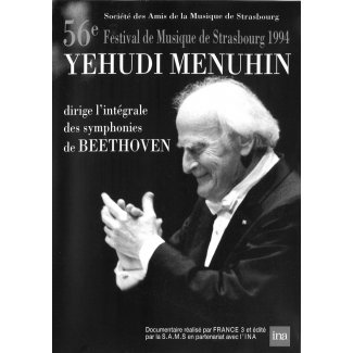 56. Festival de Musique de Strasbourg 1994 YEHUDI MENUHIN