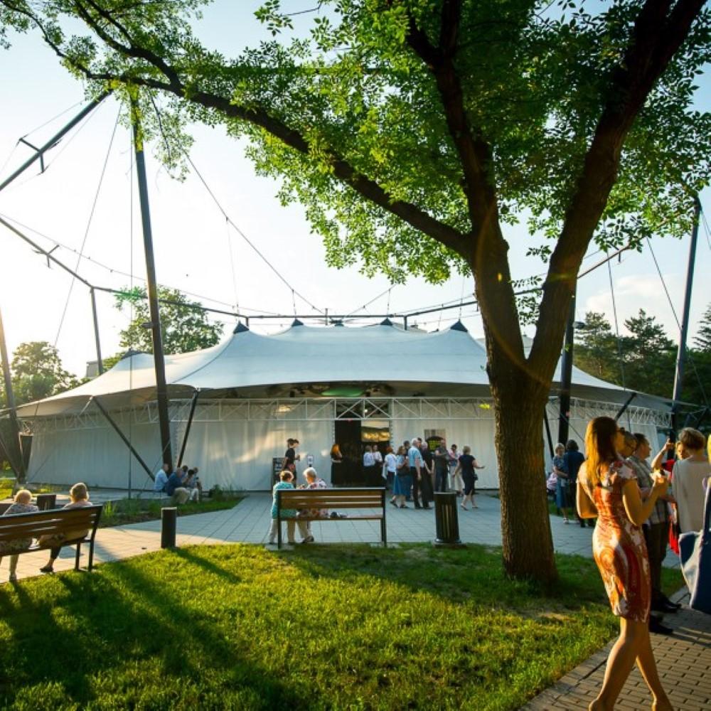 namiot koncertowy