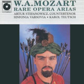 W.A.MOZART RARE OPERA ARIAS