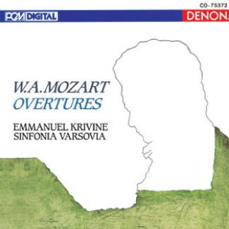 EMMANUEL KRIVINE W.A.Mozart OVERTURES