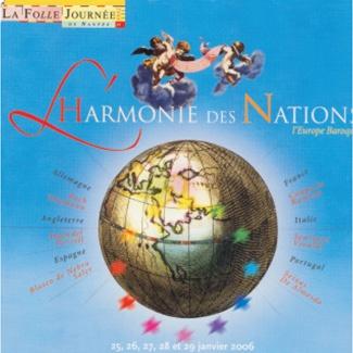 LA FOLLE JOURNÉE HARMONIE DES NATIONS l'Europe Baroque