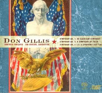 DON GILLIS Symphonies