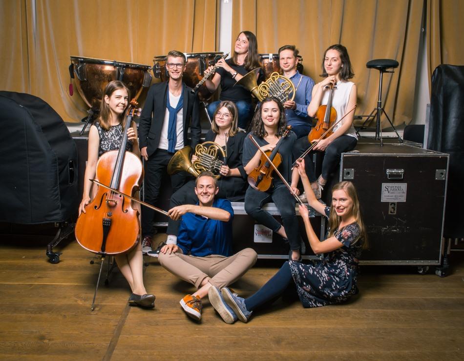 Uczestnicy Akademii Sinfonia Varsovia