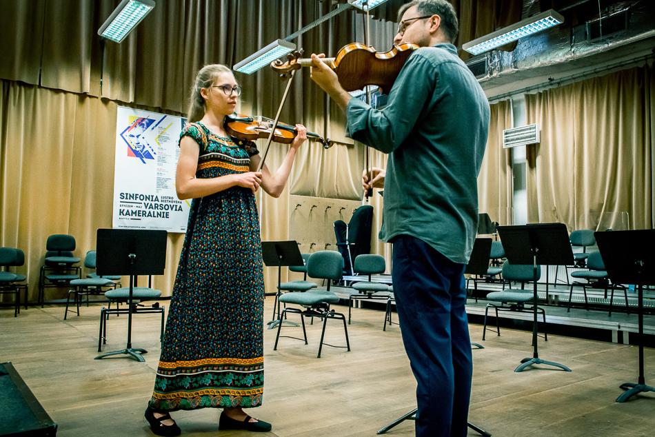 Warsztaty indywidualne zkoncertmistrzem Sinfonii Varsovii