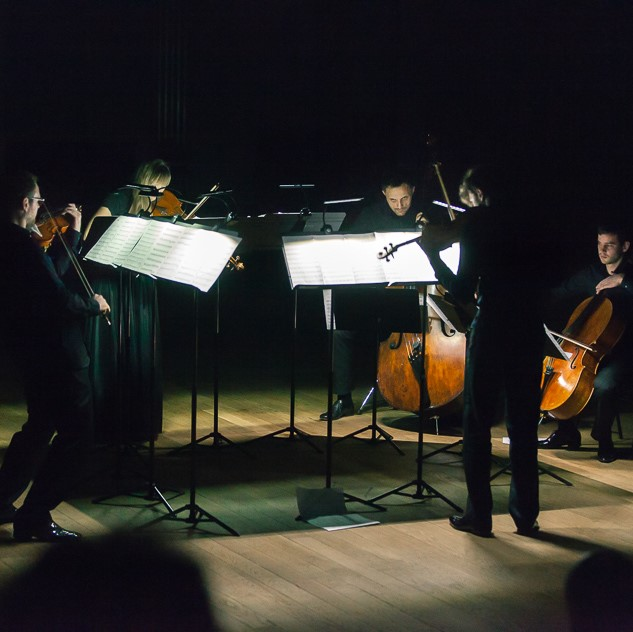 The world premiere of Ignacy Zalewski's String Quintet