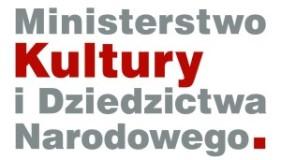 logotyp ministerstwa kultury idziedzictwa narodowego