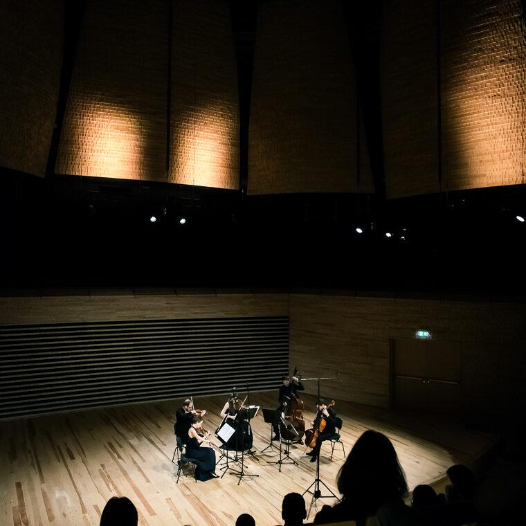 Sinfonia Varsovia String Quintet naWarszawskiej Jesieni